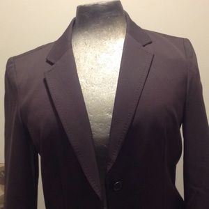J.Crew classic two button brown wool blazer